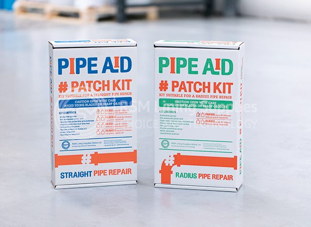 both pipeaid patch kits together