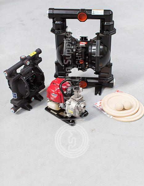 recirculation pump and diaphragm pump